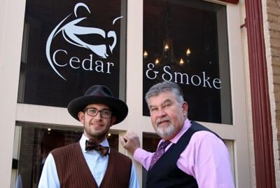 """Cigar shop celebrating """"grand opening"""" after year in business"""