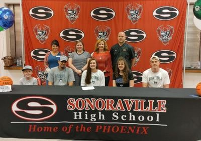 Sonoraville's Geary inks to play at next level at Georgia College and State University