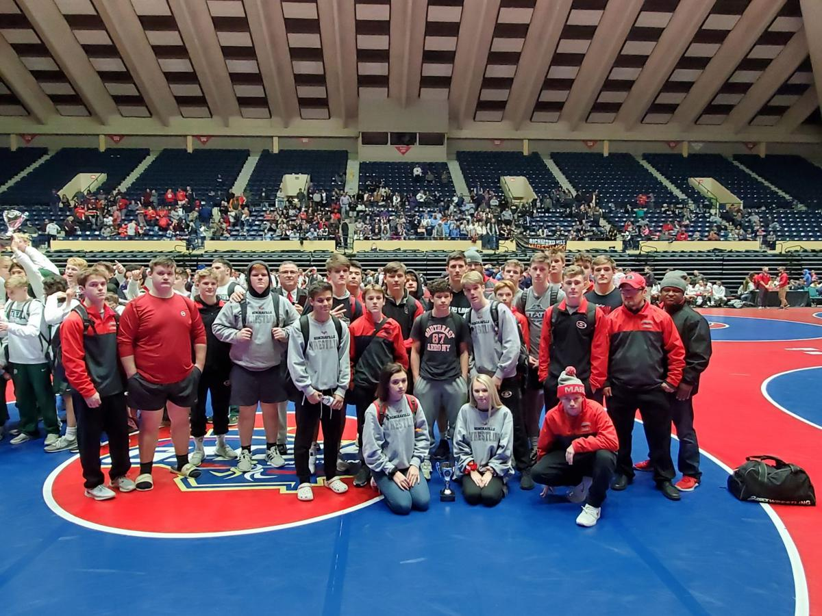 Sonoraville Wrestling earns state runner up in 2020 Class AAA Duals Championship