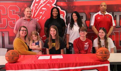 Madison Stookey signs with West Virginia Tech