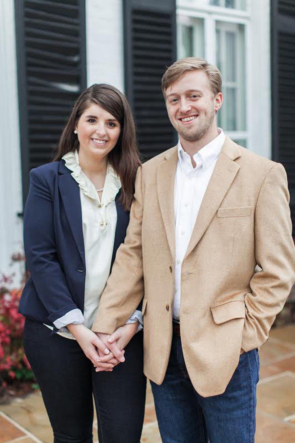 Martha Griffin and Neil Bramblett