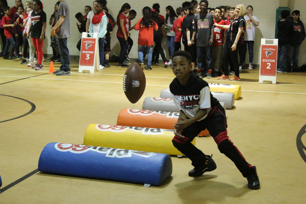 Atlanta Falcons Junior Training Camp