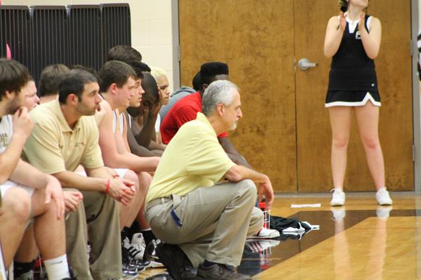 Pepperell coach Skip Matherly