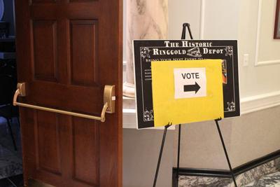 Voting remains open until 7 p.m.