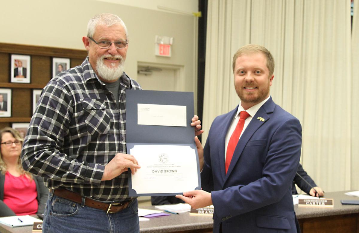 Brown receives 2020 Bobby Alexander Public Service Award