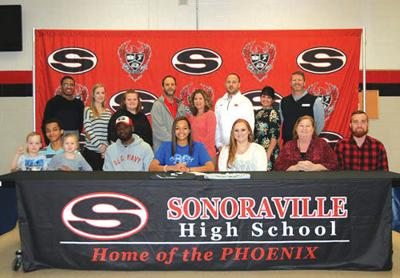 Sonoraville's Sandi McMullin signs with Berea College