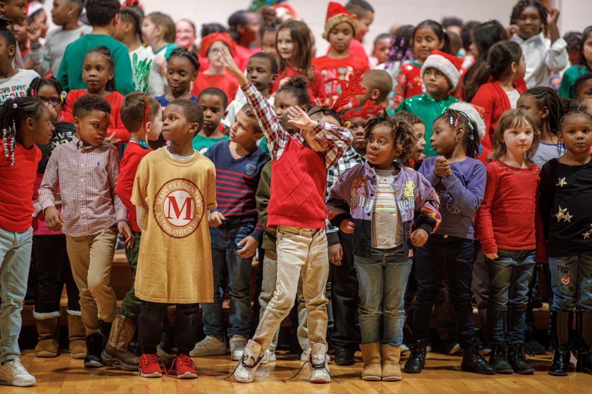 Main Elementary PTO Christmas program