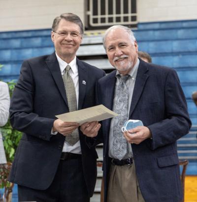 Shorter honors longtime educator