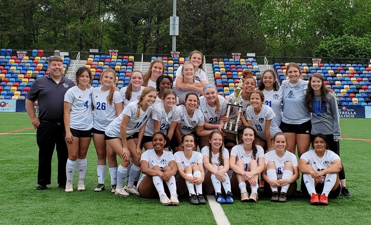 Armuchee Lady Indians soccer - 2021 Region 6-A Public Champions