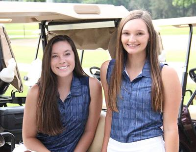 Walker County Girls' Golfers of the Year - Jessica Hickman and Macall Miller