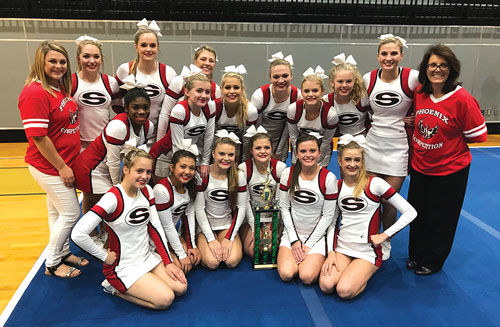 Sonoraville Cheer wins at Adairsville Invitational