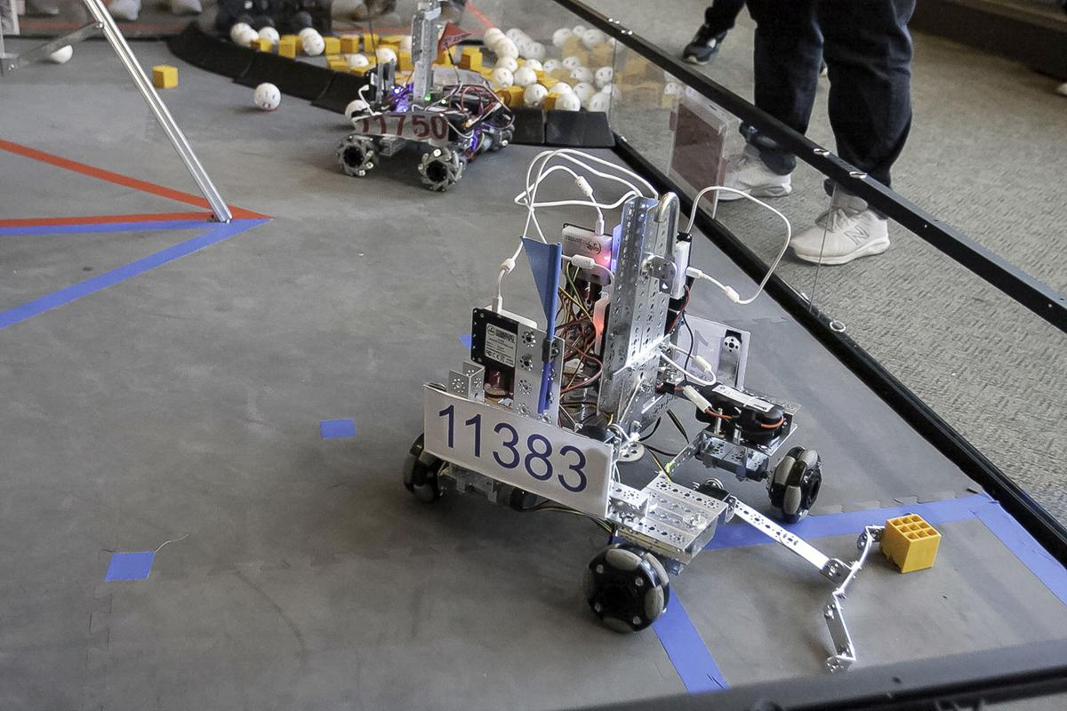 Ready, set, whirr! Darlington holds multi-school robotic competition