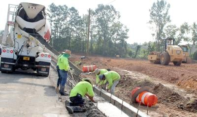 Work progresses on 67-home Crestwood subdivision in North Rome