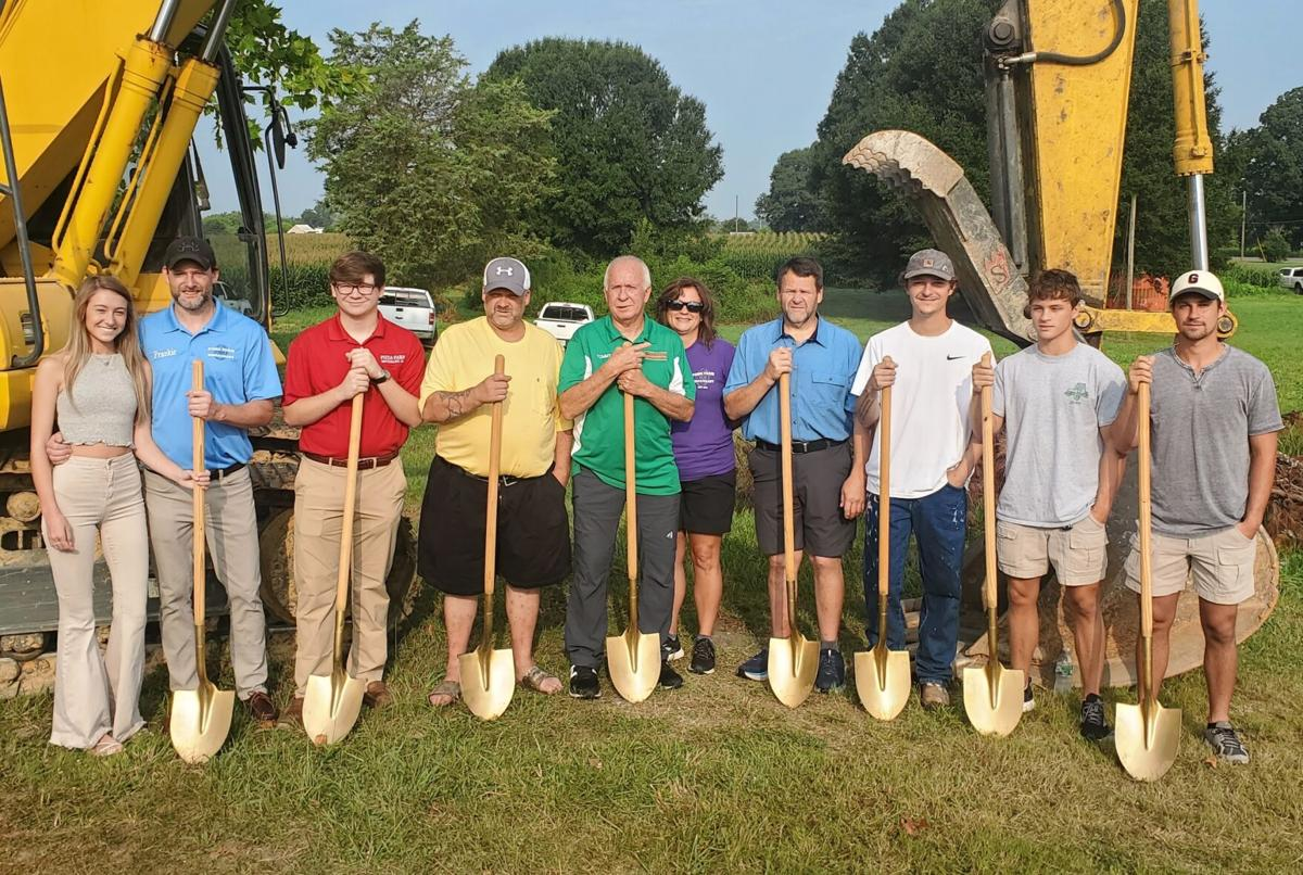 Community, family comes out for groundbreaking of new Pizza Farm restaurant