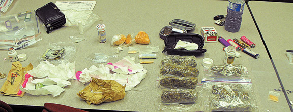 Drug bust in Catoosa County