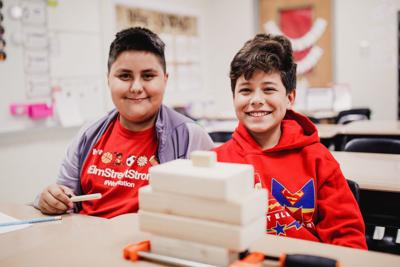 Elm Street Elementary School hosts Genius Hour