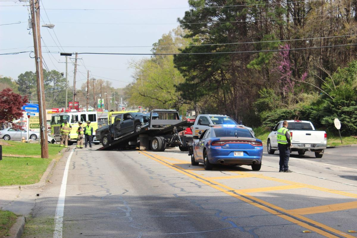 Wreck on Dean Avenue backs up traffic
