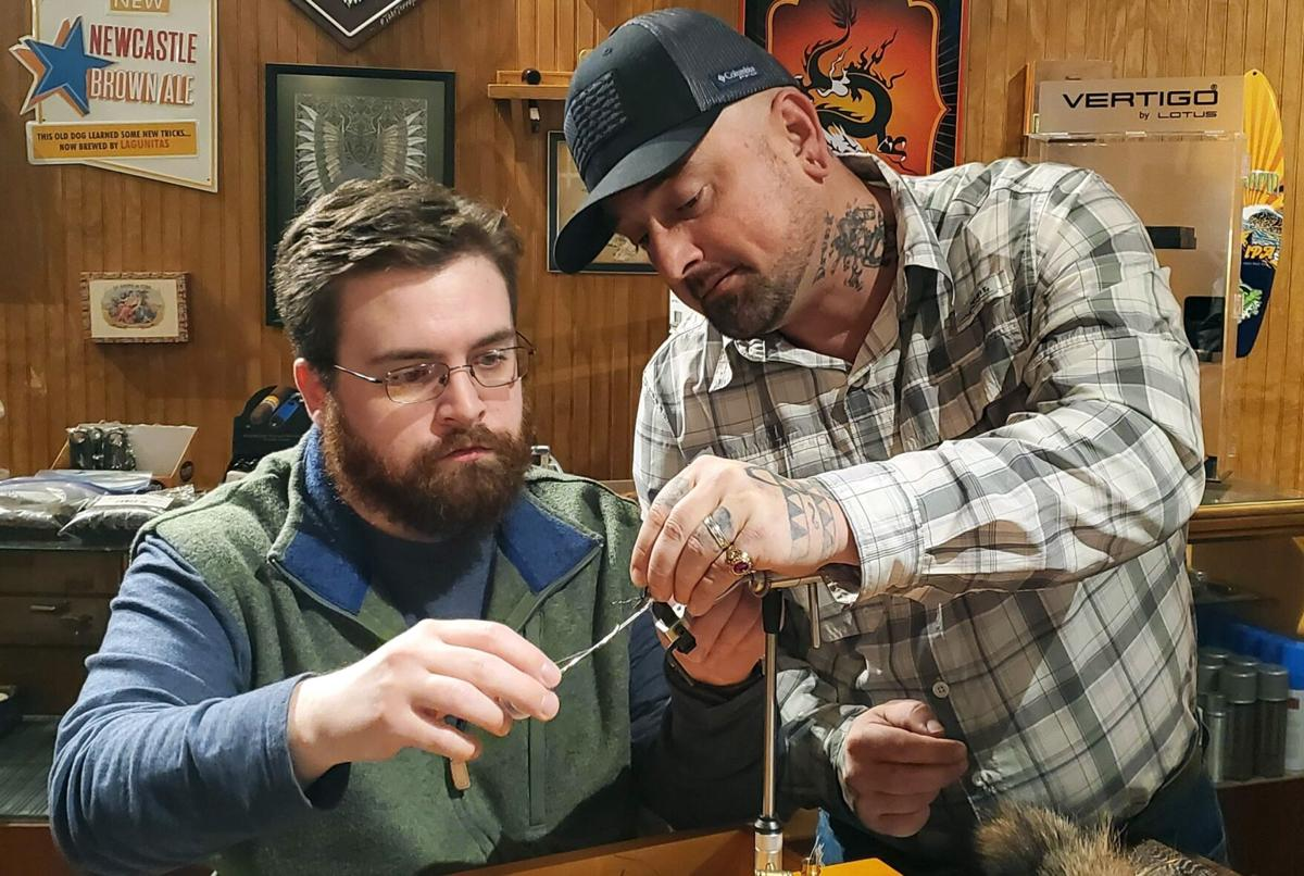 Local spot hosts fly tying classes