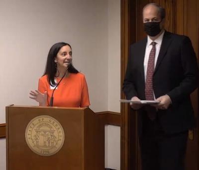 Georgia Senate Transportation Committee hearing