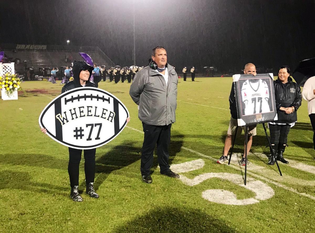 Todd Wheeler Jersey Retirement at Pepperell High School
