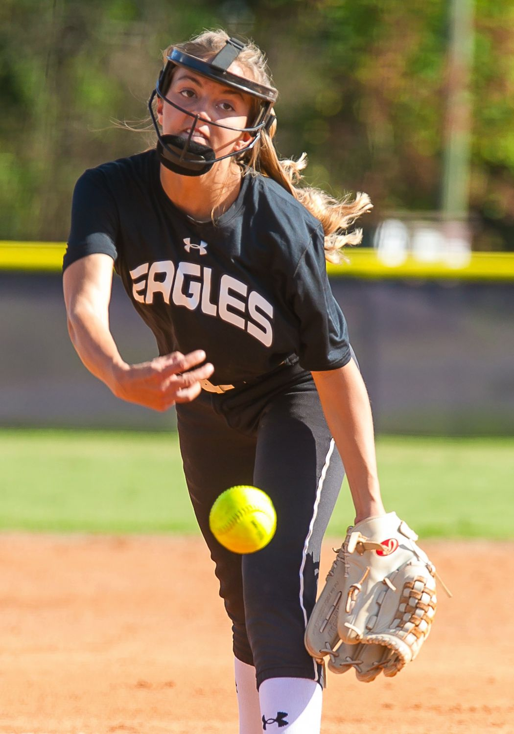 Coosa pitcher Shelby Nutter