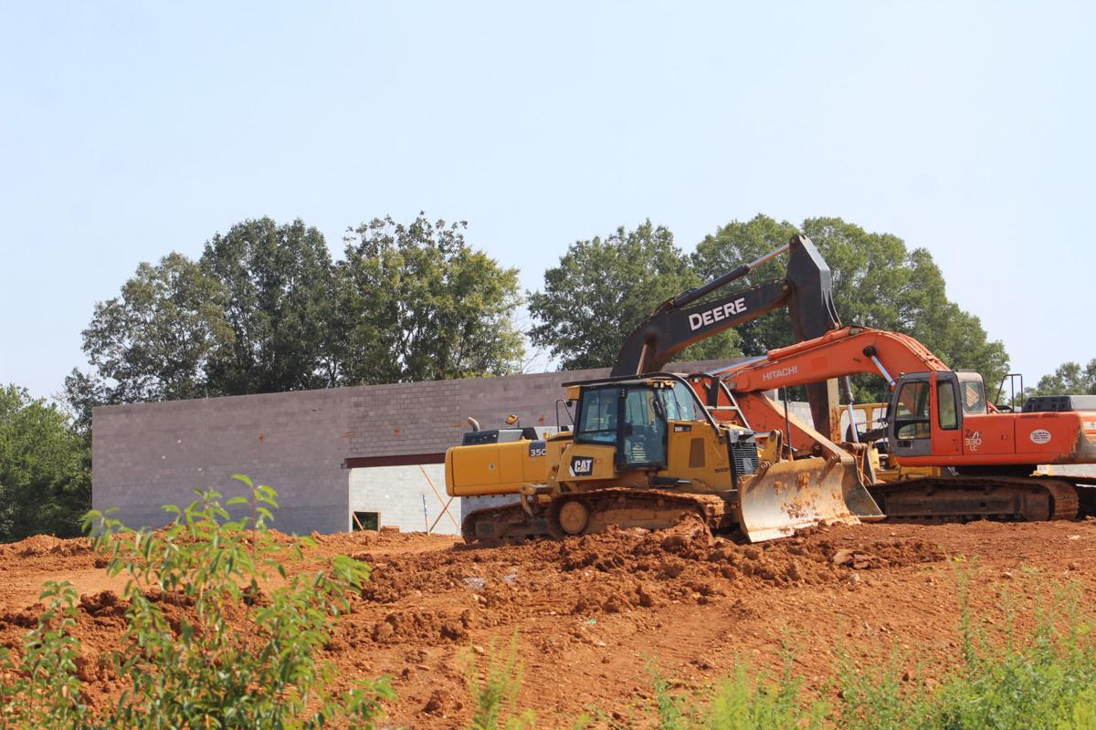Tractor Supply Factory : Tractor supply company construction seeing progress