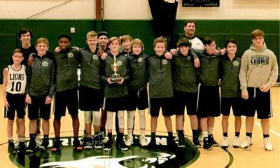 Unity Christian middle school basketball