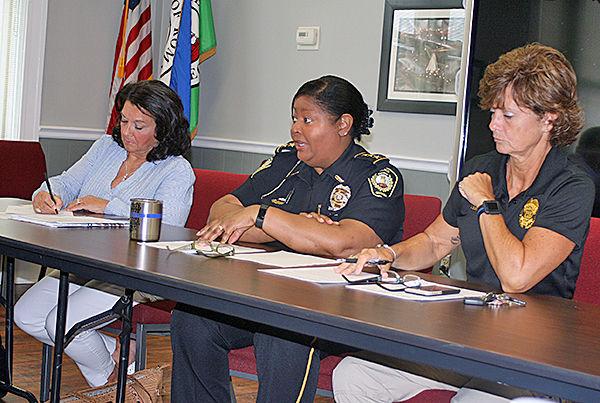 Downtown Development discussing curfew