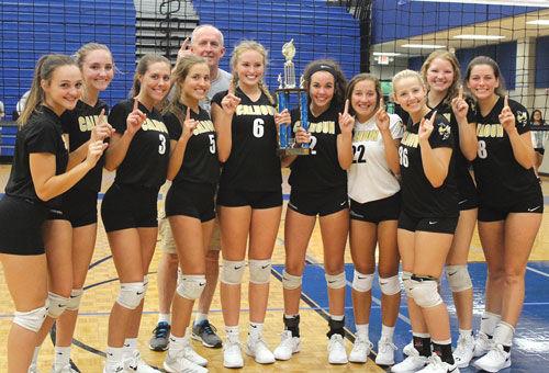 Calhoun Volleyball wins Fannin Tournament