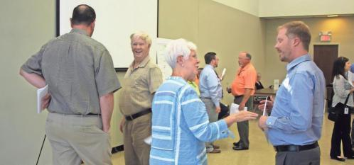 GDOT hosts locals for bridge meeting