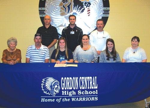 Gordon Central's Shawnda Martin signs with Georgia College