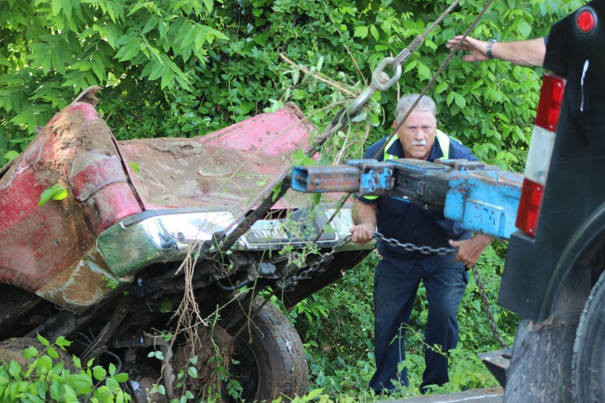 Truck from Dec. wreck recovered from Etowah River