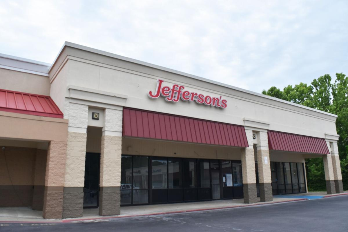 Jefferson's Calhoun location aims for summer opening