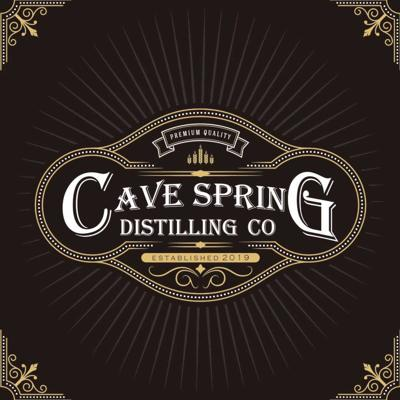 Cave Spring Distilling Company logo