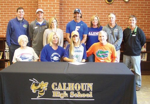 Calhoun's Kessler signs with Florida