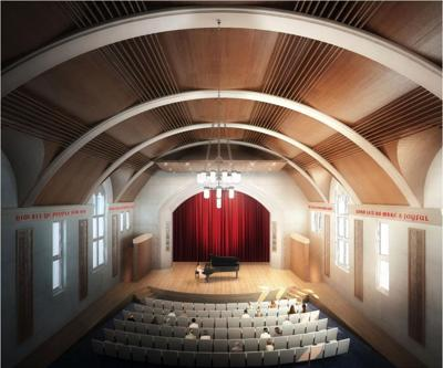 Berry College's Ford Auditorium renovations