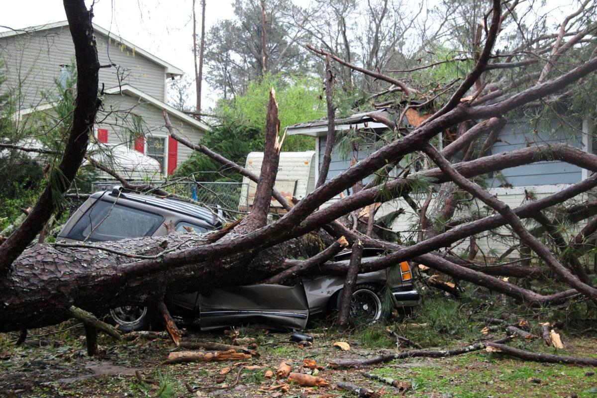 Polk County pelted with string of severe storms