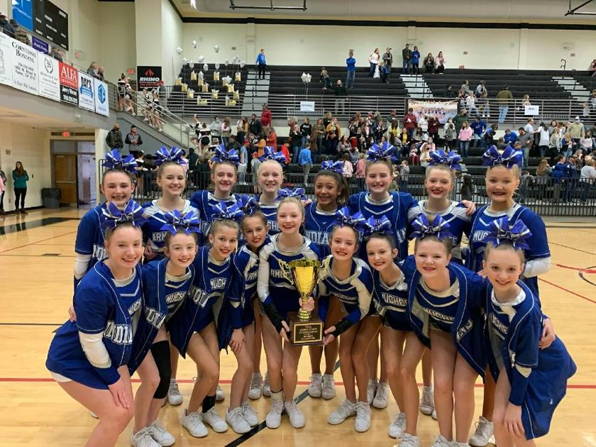 Armuchee Middle School Cheer claims back-to-back FCAA Region Titles