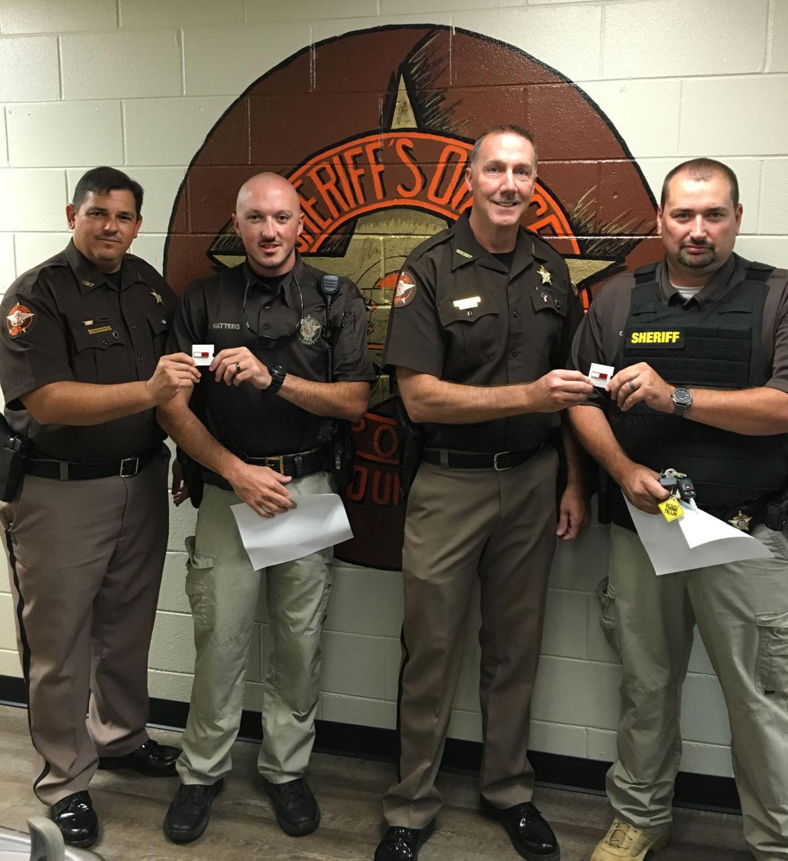 PCSO deputies honored for heroism