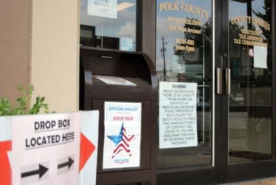 Drop box available for Polk County absentee ballots