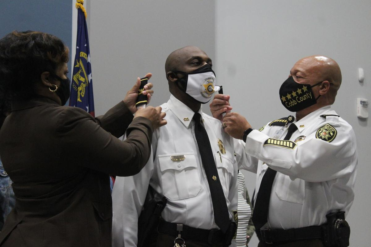 Atkins promoted to detention center commander