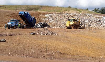 Walker Mountain landfill