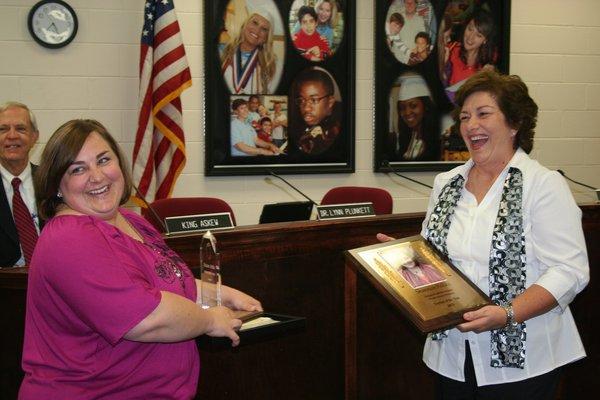 Shannon Pollitz named 2013 Teacher of the Year