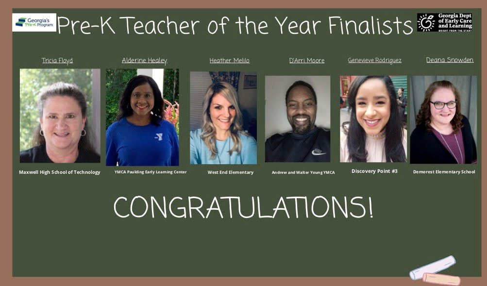West End Elementary teacher named statewide finalist in Pre-K teacher of the year