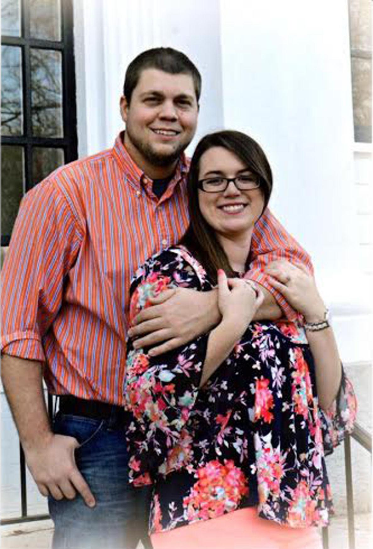 Emily Popham and Daniel Houston