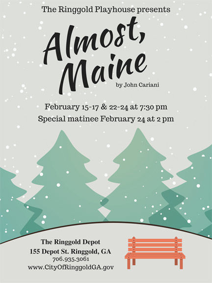 """Almost, Maine"" coming to Ringgold Playhouse"