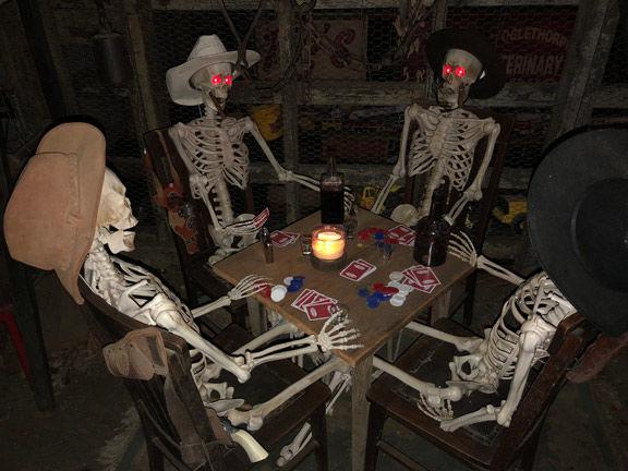 Final Haunted Weekend Skeletons