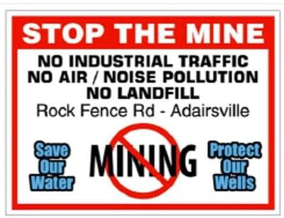 Group opposes plans for mining site near Adairsville
