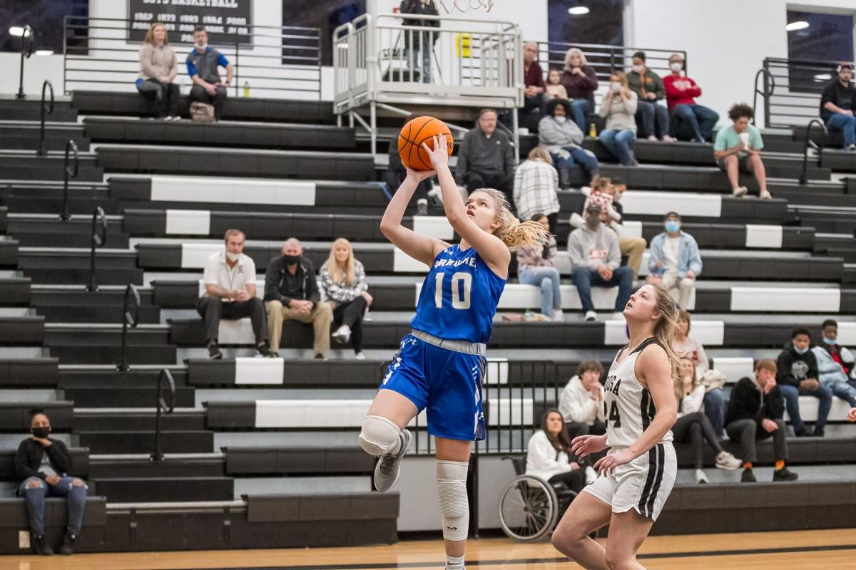 Armuchee's Bailey Tomlin vs. Coosa Girls Basketball
