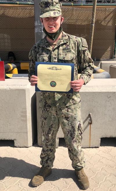 U.S. Navy Gunner's Mate 3 Jace S. Burnham
